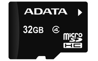 ADATA Micro Secure Digital High Capacity Memory Card Class 4 + SD Adapter (4GB / 8GB / 16GB / 32GB)
